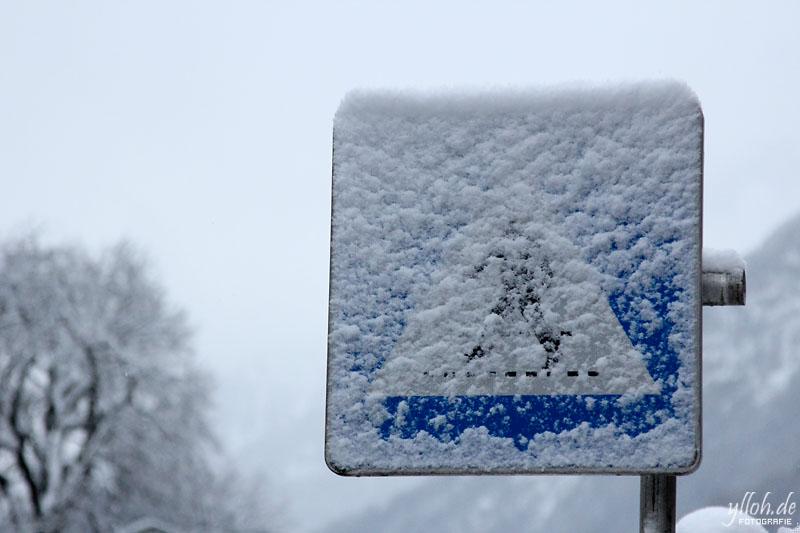 Schneeübergang